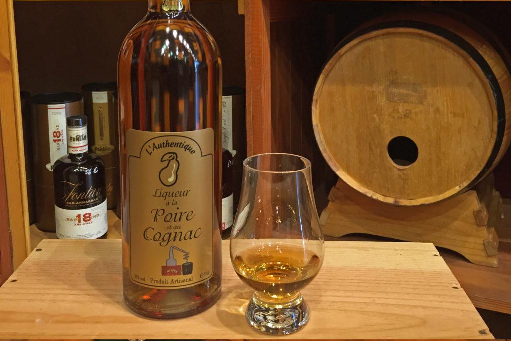 dégustation poire cognac