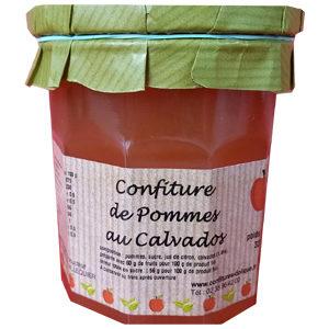 Confiture de Pommes au Calvados