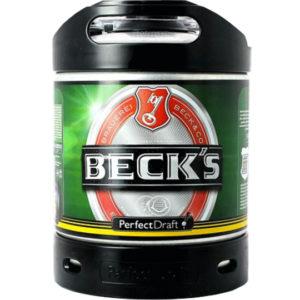 Fût Becks 6 litres