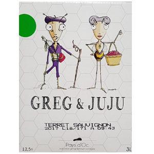 Greg et Juju Blanc BIB