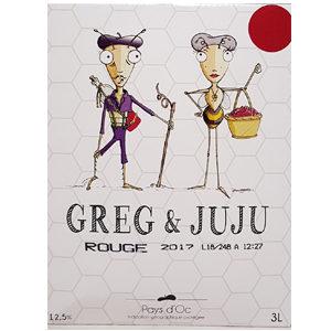 Greg et Juju Rouge BIB