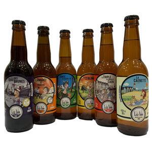 Box Bières Bio La Lie