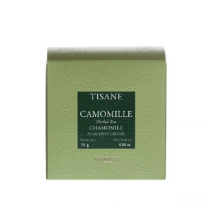Tisane Dammann Camomille 25 sachets cristal®
