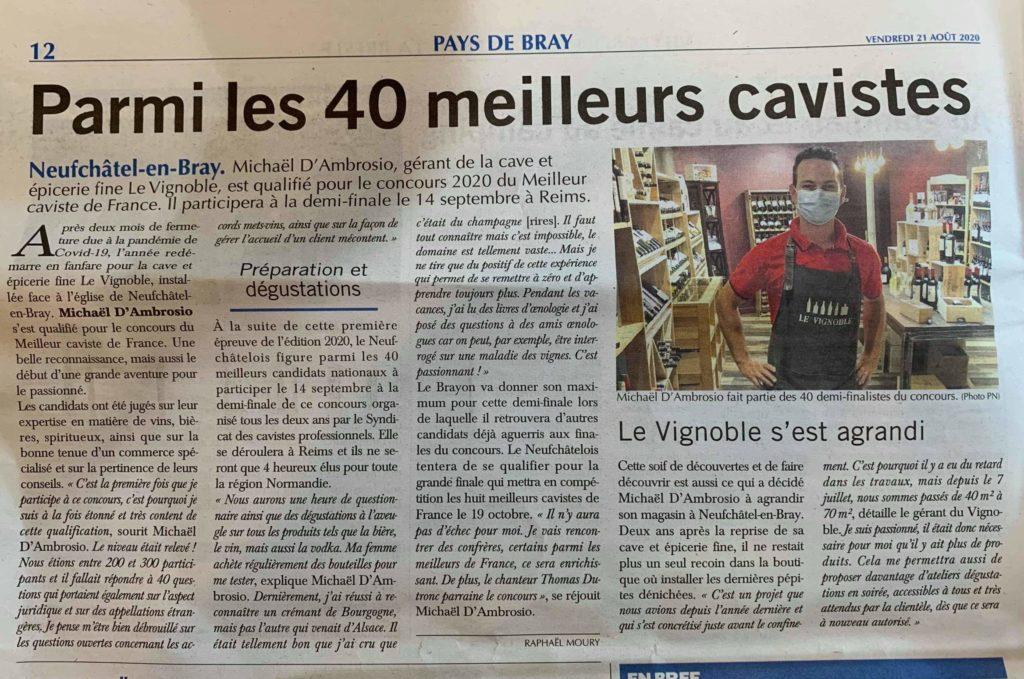 article paris normandie meilleur caviste aout 2020